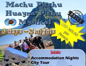 Machu Picchu Huayna Picchu Mystical ALL INCLUDED