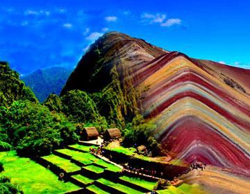 Machu Picchu Huayna Picchu Montaña de Colores