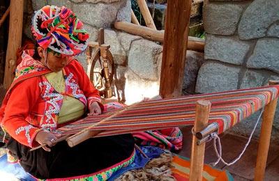Valle Sagrado: Las tejedoras